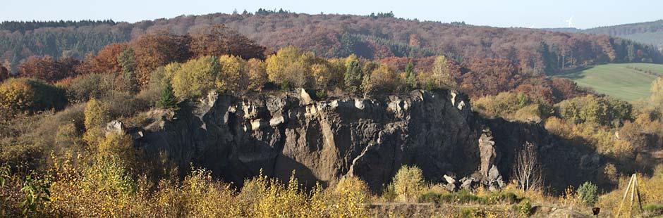 Steffeln, Vulkangarten